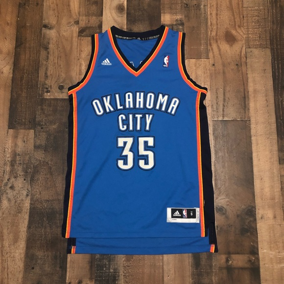 lowest price 6d5c2 cb5ed Kevin Durant Authentic OKC Thunder Jersey